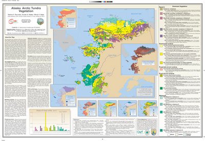 Alaska Arctic Tundra Vegetation Map