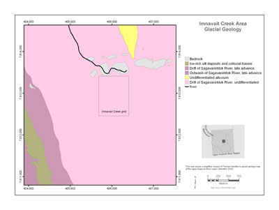 Imnavait Creek Area Glacial Geology