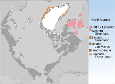 Circumpolar Arctic Floristic Provinces - North Atlantic Group