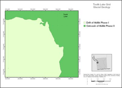 Toolik Lake Grid Glacial Geology