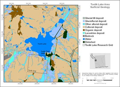 Toolik Lake Area Surficial Geology